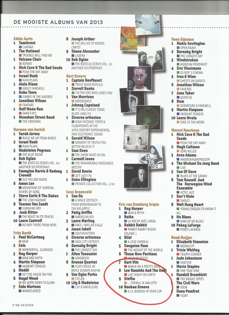 Jaarlijst Heaven 2014_1 1